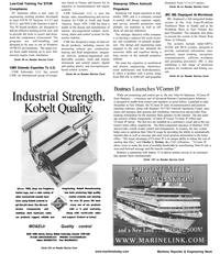 Maritime Reporter Magazine, page 58,  Jan 2001