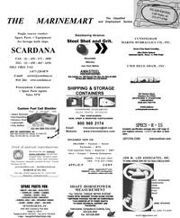 Maritime Reporter Magazine, page 65,  Jan 2001 MTU