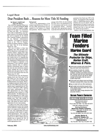 Maritime Reporter Magazine, page 11,  Feb 2001
