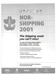 Maritime Reporter Magazine, page 2nd Cover,  Feb 2001