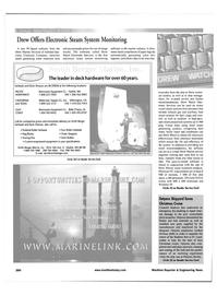 Maritime Reporter Magazine, page 44,  Feb 2001
