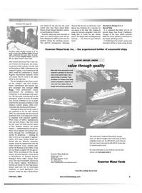 Maritime Reporter Magazine, page 45,  Feb 2001
