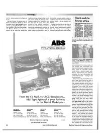 Maritime Reporter Magazine, page 52,  Feb 2001