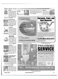 Maritime Reporter Magazine, page 59,  Feb 2001
