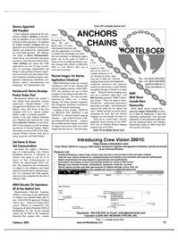 Maritime Reporter Magazine, page 65,  Feb 2001