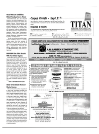 Maritime Reporter Magazine, page 4th Cover,  Feb 2001