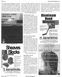 Maritime Reporter Magazine, page 15,  Mar 2001