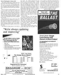 Maritime Reporter Magazine, page 31,  Mar 2001 tric powered ballast systems