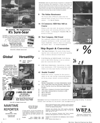 Maritime Reporter Magazine, page 2,  Mar 2001 Texas