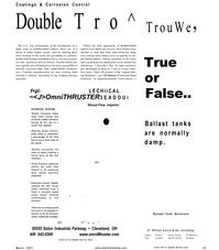 Maritime Reporter Magazine, page 43,  Mar 2001