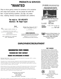 Maritime Reporter Magazine, page 67,  Mar 2001