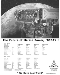Maritime Reporter Magazine, page 3rd Cover,  Mar 2001