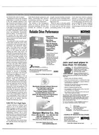 Maritime Reporter Magazine, page 9,  Apr 2001