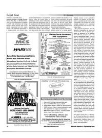 Maritime Reporter Magazine, page 16,  Apr 2001 east coast