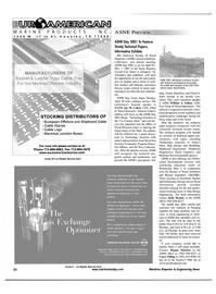 Maritime Reporter Magazine, page 20,  Apr 2001