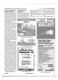 Maritime Reporter Magazine, page 27,  Apr 2001
