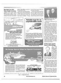 Maritime Reporter Magazine, page 28,  Apr 2001