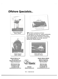 Maritime Reporter Magazine, page 35,  Apr 2001 Florida