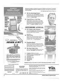 Maritime Reporter Magazine, page 2,  Apr 2001