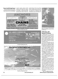 Maritime Reporter Magazine, page 38,  Apr 2001