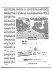 Maritime Reporter Magazine, page 45,  Apr 2001