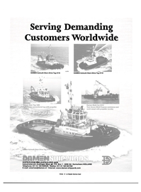Maritime Reporter Magazine, page 55,  Apr 2001 Serving Demanding Customers Worldwide