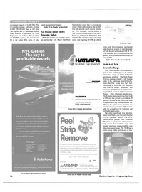 Maritime Reporter Magazine, page 58,  Apr 2001 newbuild applications