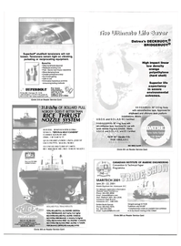 Maritime Reporter Magazine, page 60,  Apr 2001 Reader Service Card CANADIAN INSTITUTE OF MARINE ENGINEERING Convention