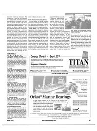 Maritime Reporter Magazine, page 67,  Apr 2001