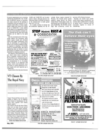 Maritime Reporter Magazine, page 9,  May 2001