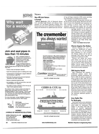 Maritime Reporter Magazine, page 16,  May 2001