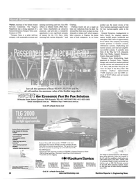Maritime Reporter Magazine, page 26,  May 2001
