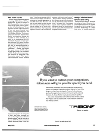Maritime Reporter Magazine, page 27,  May 2001