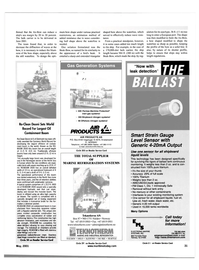 Maritime Reporter Magazine, page 31,  May 2001