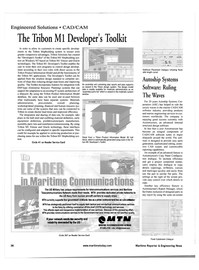 Maritime Reporter Magazine, page 36,  May 2001