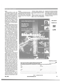 Maritime Reporter Magazine, page 41,  May 2001