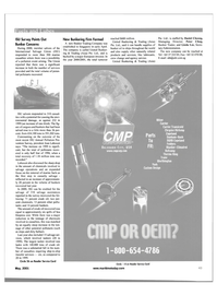 Maritime Reporter Magazine, page 43,  May 2001