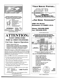 Maritime Reporter Magazine, page 49,  May 2001