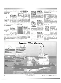 Maritime Reporter Magazine, page 54,  May 2001