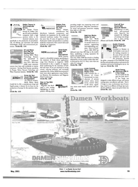 Maritime Reporter Magazine, page 55,  May 2001