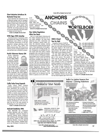 Maritime Reporter Magazine, page 57,  May 2001