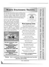 Maritime Reporter Magazine, page 4th Cover,  May 2001