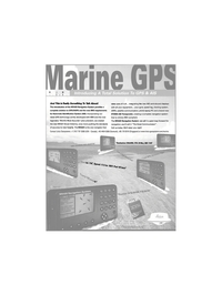 Maritime Reporter Magazine, page 3,  Jun 2001 automatic identification system