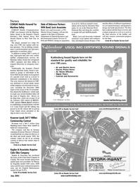 Maritime Reporter Magazine, page 15,  Jul 2001