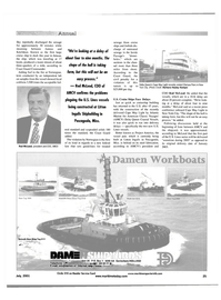 Maritime Reporter Magazine, page 25,  Jul 2001 Chelsea Piers