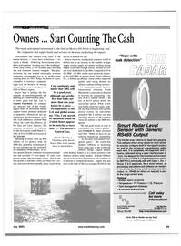 Maritime Reporter Magazine, page 29,  Jul 2001