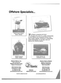 Maritime Reporter Magazine, page 37,  Jul 2001 Alabama Atlantic Marine Inc.