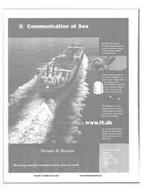 Maritime Reporter Magazine, page 46,  Jul 2001 communication tool