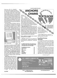 Maritime Reporter Magazine, page 65,  Jul 2001