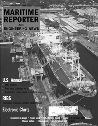 Maritime Reporter Magazine Cover Aug 2001 -